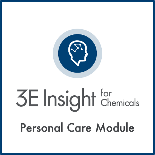 3E Insight for Chemicals - Personal Care Module