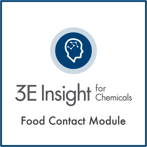 3E Insight for Chemicals - Food Contact Module